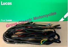 54094151 lucas wiring harness braided cotton cover