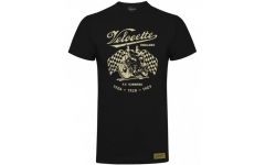 gcm004 velocette winners flag t-shirt black